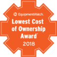 EquipmentWatch Lowest Cost of Ownership Award 2018 logo
